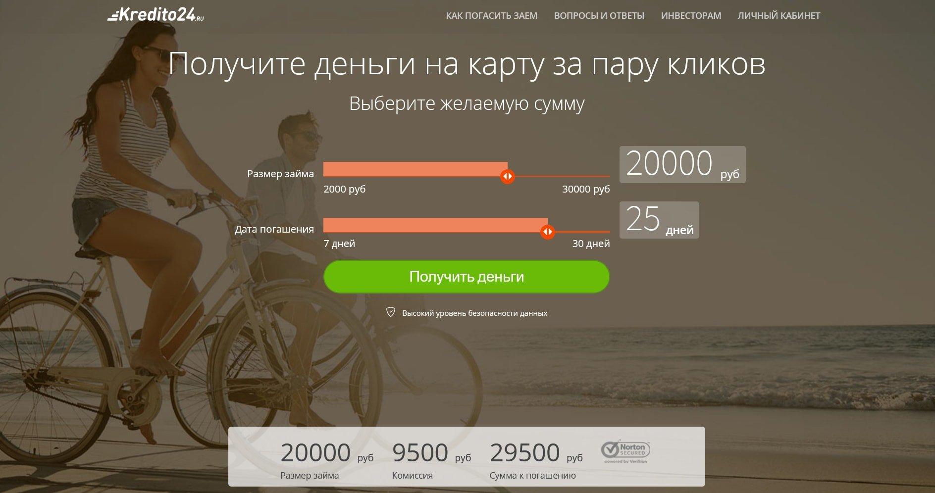мфо кредито 24 россия