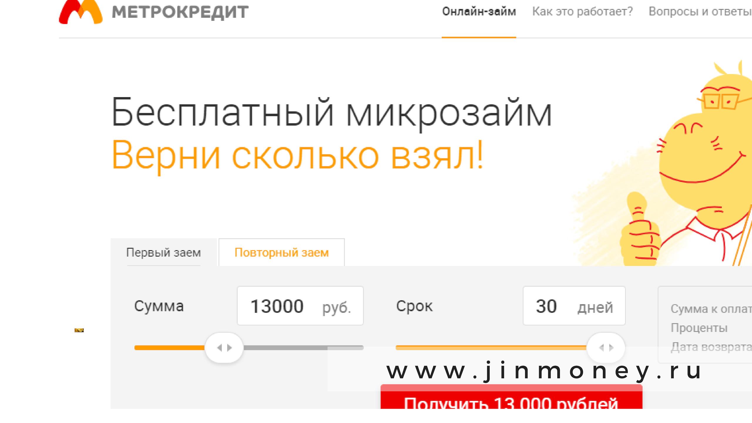 метрокредит